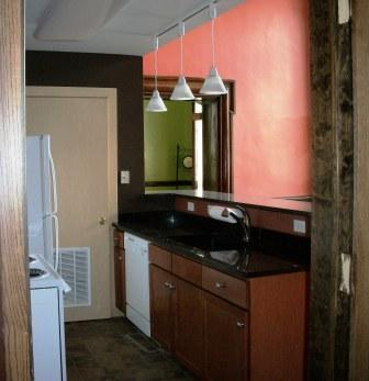 Suite 110 Kitchen Doorway